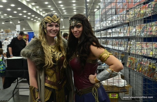 Baltimore Comic Con 2017 cosplay - Hippolyta and Wonder Woman