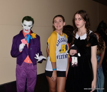 Baltimore Comic Con 2017 cosplay - Joker, Betty and