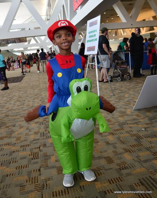 Baltimore Comic Con 2017 Cosplay Mario And Yoshi Lyles Movie Files