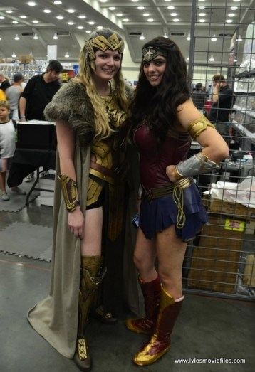 Baltimore Comic Con 2017 cosplay - Queen Hippolyta and Wonder Woman