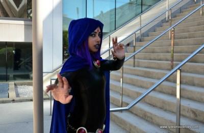 Baltimore Comic Con 2017 cosplay - Raven 1