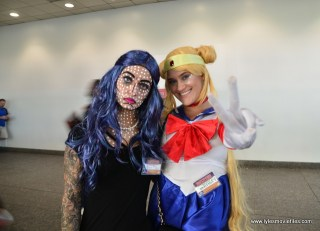 Baltimore Comic Con 2017 cosplay - Sailor Moon and