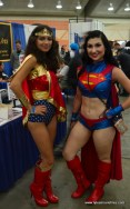 Baltimore Comic Con 2017 cosplay - Wonder Woman and Superwoman