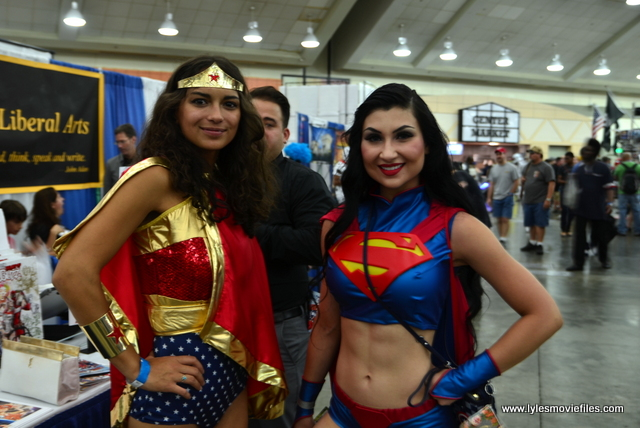 Baltimore Comic Con 2017 cosplay - Wonder Woman with SuperWoman