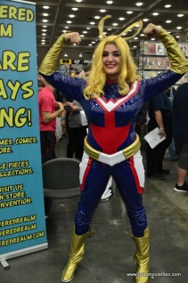 Baltimore Comic Con 2017 cosplay -striking a pose