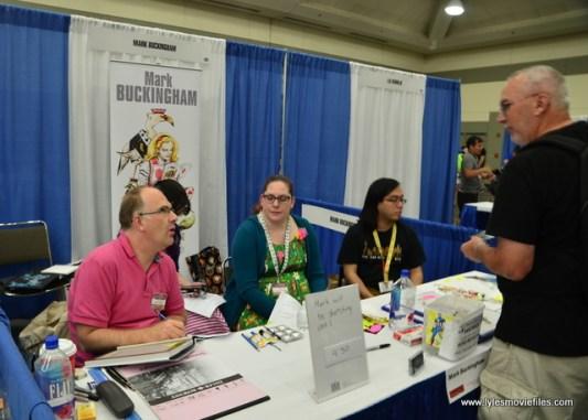 Baltimore Comic Con 2017 - creators showcase -Mark Buckingham