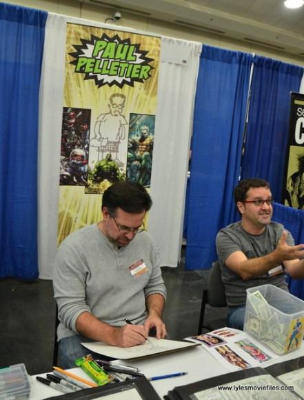 Baltimore Comic Con 2017 - creators showcase - Paul Pellitier