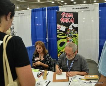 Baltimore Comic Con 2017 - creators showcase -Stan Sakai