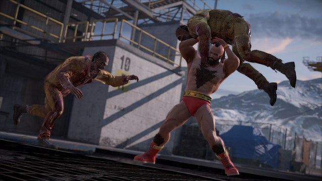 Dead Rising 4 Frank's Big Package - Frank as Zangief