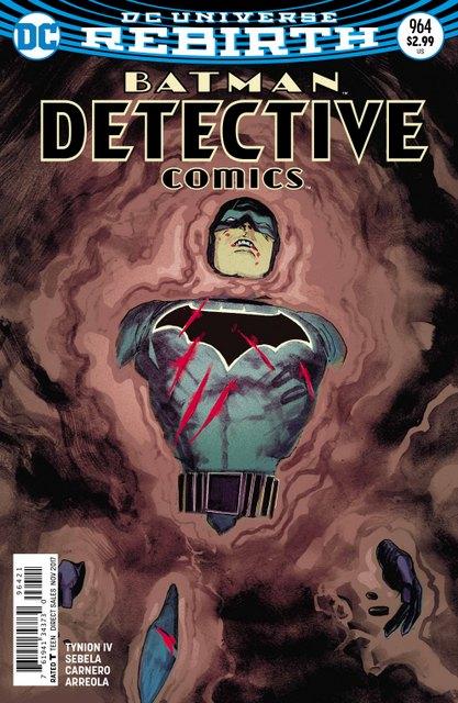 Detective Comics #964 variant cover