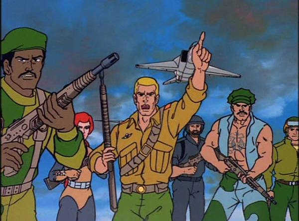 GI Joe A Real American Hero movie review - Stalker, Scarlet, Duke, Breaker and Gung-Ho