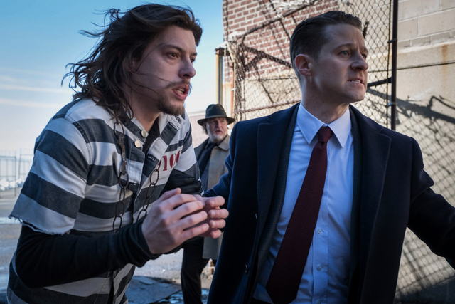 Gotham heavydirtysoul review - Tetch and Gordon
