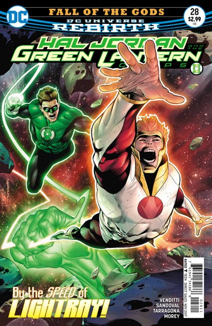 Hal Jordan and the Green Lantern Corps #28 cover