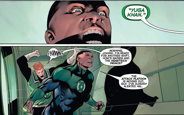Hal Jordan and the Green Lantern Corps #29 interior art