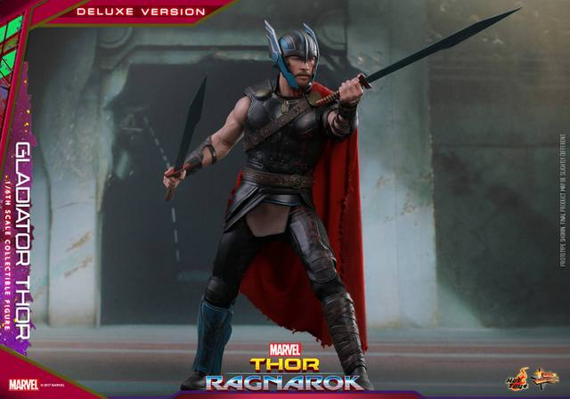Hot Toys Gladiator Thor figure -in the pit