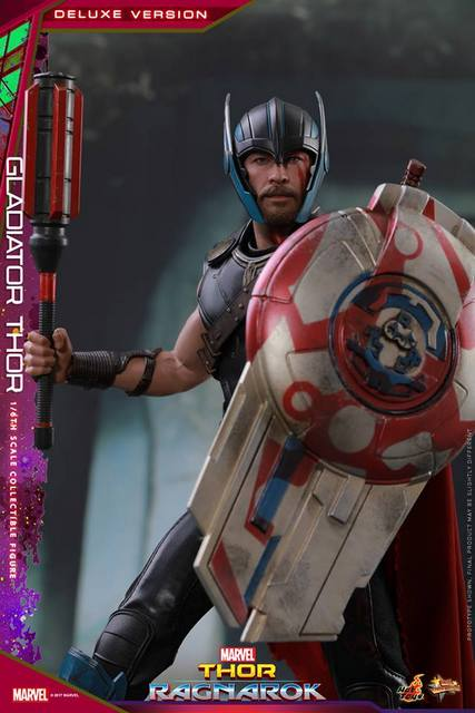 Hot Toys Gladiator Thor figure -with shield