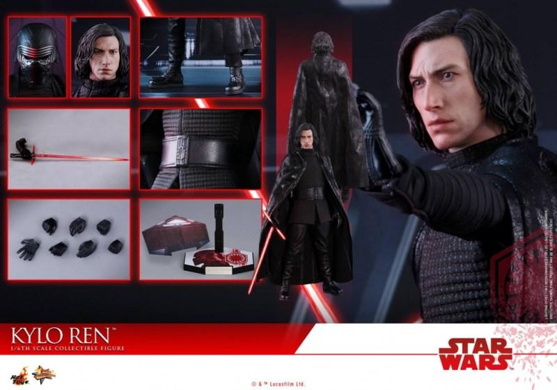 Hot Toys The Last Jedi Kylo Ren - collage