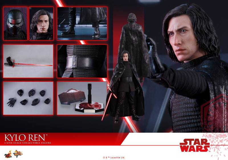 Hot Toys The Last Jedi Kylo Ren - collage
