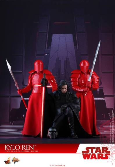 Hot Toys The Last Jedi Kylo Ren -with Pratoerian Knights