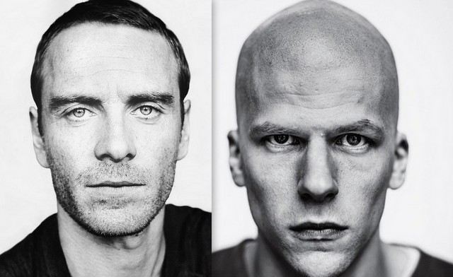 Lex Luthor - Michael Fassbender for Jesse Eisenberg