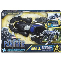MARVEL BLACK PANTHER 2-IN-1 PANTHER JET VEHICLE - in pkg