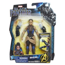 MARVEL BLACK PANTHER 6-INCH Figure Assortment (Shuri) - in pkg