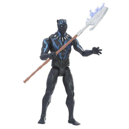 MARVEL BLACK PANTHER 6-INCH Figure Assortment (Vibranium Suit Black Panther) - oop