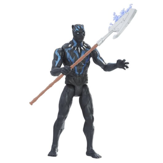 MARVEL BLACK PANTHER 6-INCH Figure Assortment (Vibranium Suit Black Panther) - oop