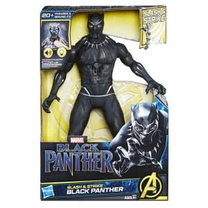 MARVEL BLACK PANTHER SLASH & STRIKE BLACK PANTHER Figure - in pkg