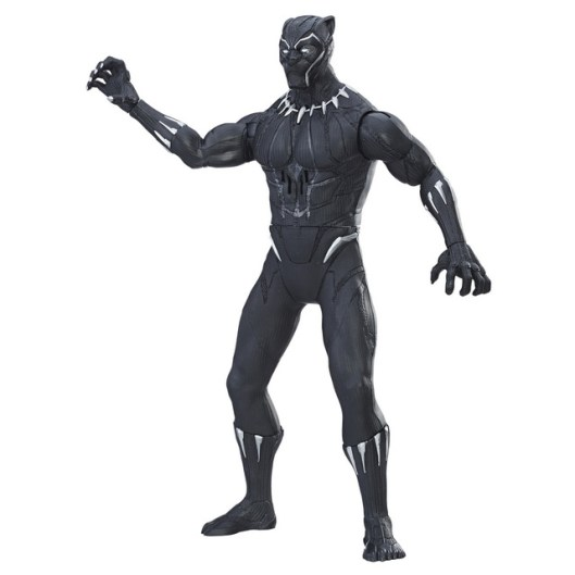 MARVEL BLACK PANTHER SLASH & STRIKE BLACK PANTHER Figure - oop