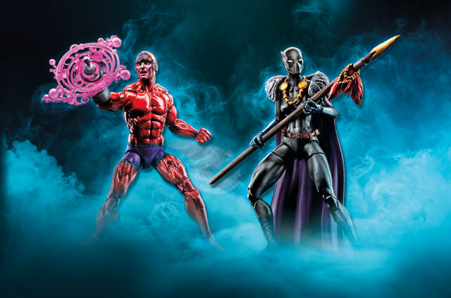 Marvel Legends Klaw and Shuri - TRU Exclusive