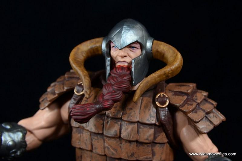 SDCC 2017 Marvel Legends Battle for Asgard figure review - Bor closeup