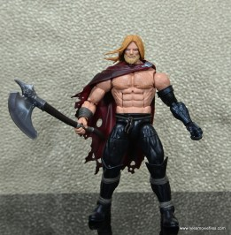 SDCC 2017 Marvel Legends Battle for Asgard figure review - Odinson wide