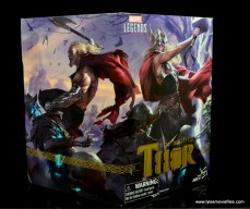 SDCC 2017 Marvel Legends Battle for Asgard figure review - package Odinson side