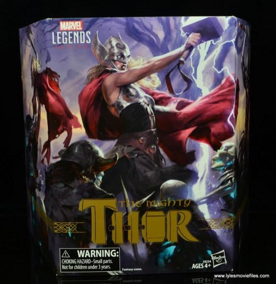 SDCC 2017 Marvel Legends Battle for Asgard figure review - package front