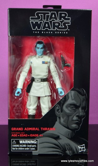 Star Wars The Black Series Grand Admiral Thrawn figure review -package front