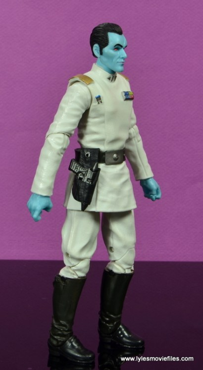 Star Wars The Black Series Grand Admiral Thrawn figure review -right side