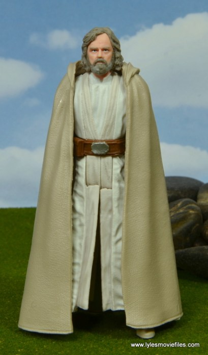 Star Wars The Last Jedi Master Luke Skywalker figure review -front