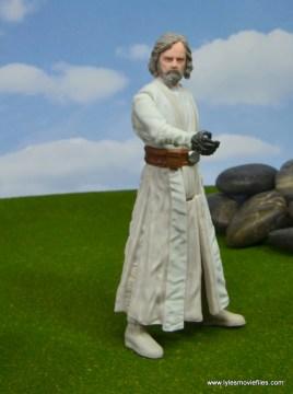 Star Wars The Last Jedi Master Luke Skywalker figure review -reaching out