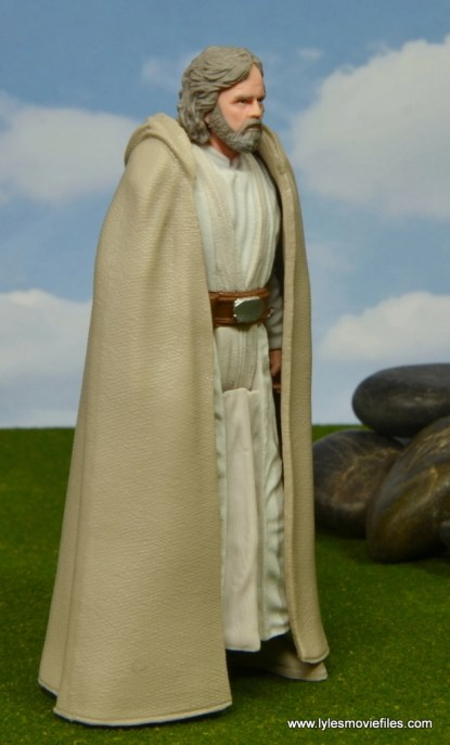 Star Wars The Last Jedi Master Luke Skywalker figure review -right side
