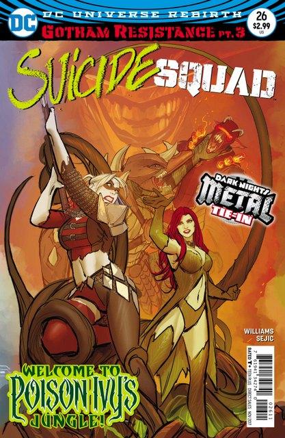 Suicide Squad #26 cover
