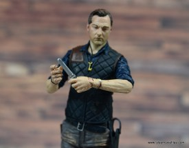 The Walking Dead The Governor TV Series figure review -holding dagger