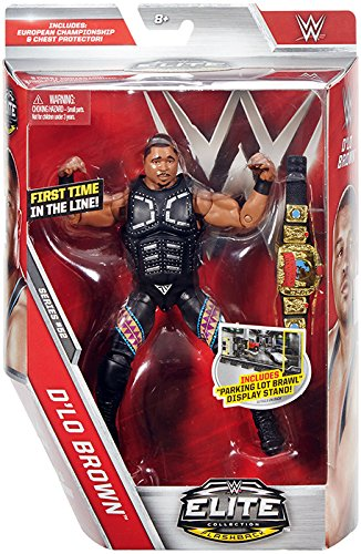 WWE Elite 52 D-Lo Brown