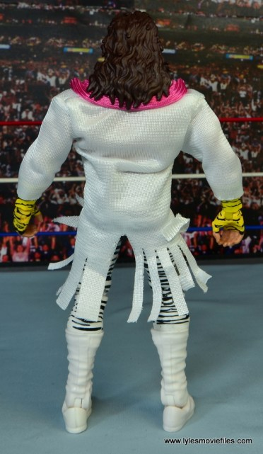 WWE Elite Brutus The Barber Beefcake figure review -rear