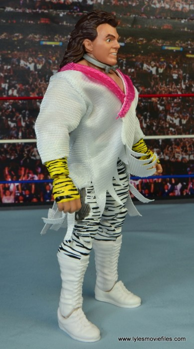 WWE Elite Brutus The Barber Beefcake figure review -right side