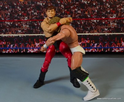 WWE Hall of Fame Jerry The King Lawler figure review -headlock to Kerry Von Erich