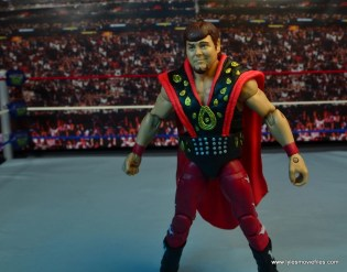 WWE Hall of Fame Jerry The King Lawler figure review -left side