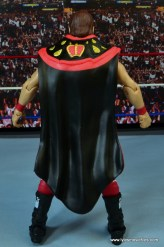 WWE Hall of Fame Jerry The King Lawler figure review - rear