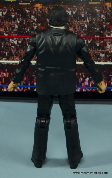 WWE Paul Bearer figure review -rear