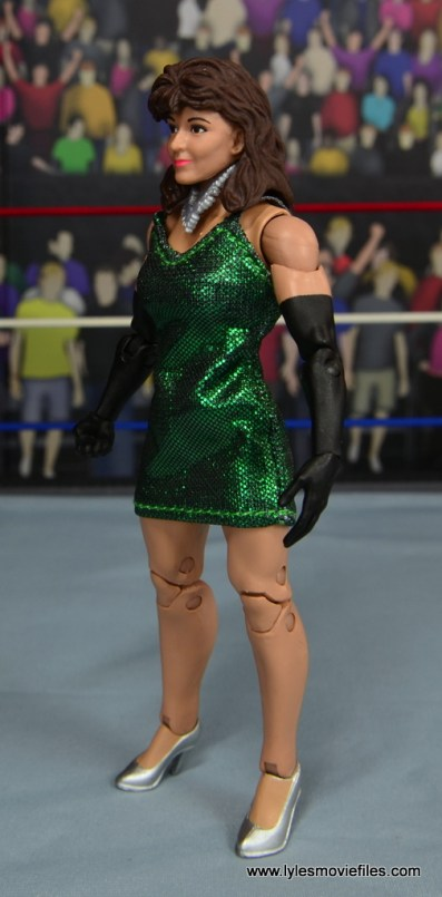 WWE Then Now Forever Miss Elizabeth figure review -left side